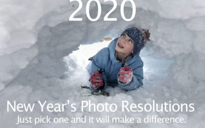 2020 New Year's Photo Resolutions